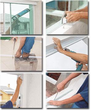 manutenção de janelas