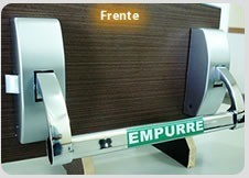 Porta madeira maciça externa preço