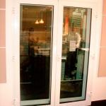 Porta de alumínio acústica